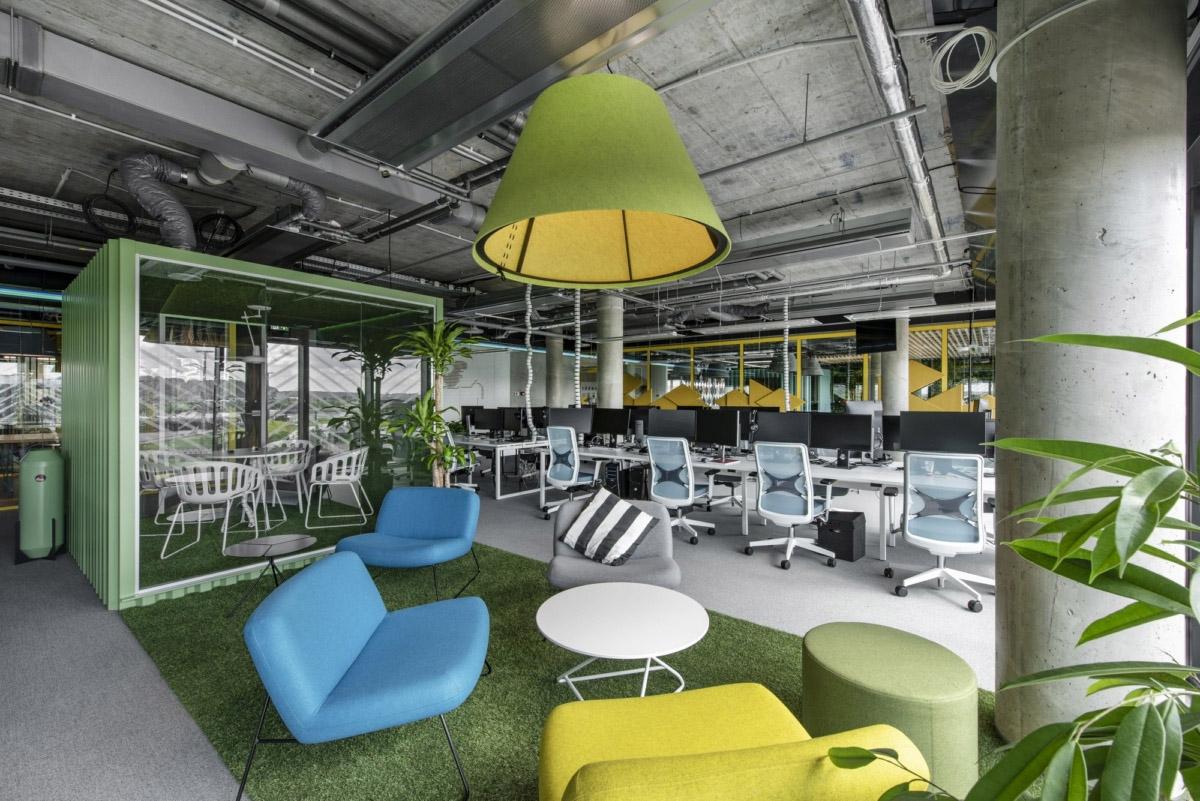 800㎡办公空间设计,精通空间布局,诠释工作态度|LAVA studio - 3
