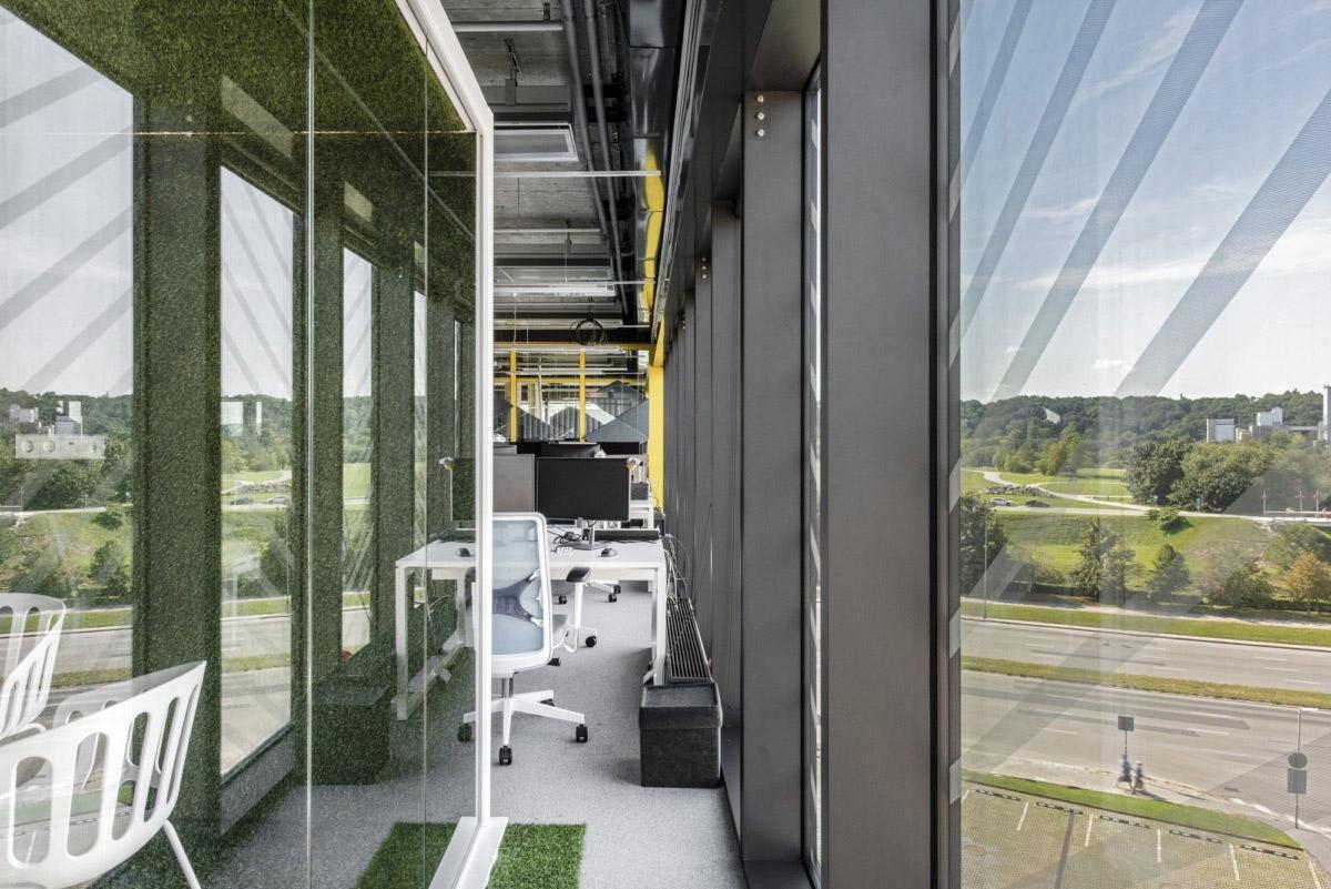 800㎡办公空间设计,精通空间布局,诠释工作态度|LAVA studio - 2