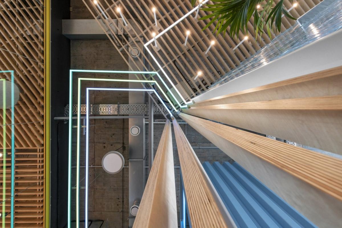 800㎡办公空间设计,精通空间布局,诠释工作态度|LAVA studio - 1