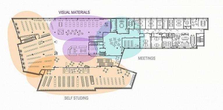 阿尔托大学图书馆改造设计欣赏