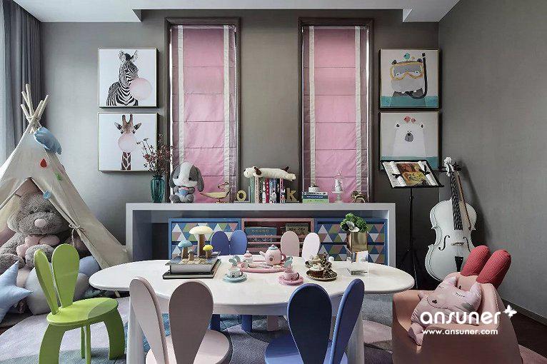 重庆中交锦悦别墅样板房设计