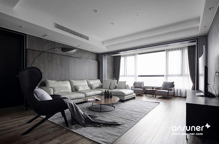 平行世界——江阴137㎡现代住宅欣赏