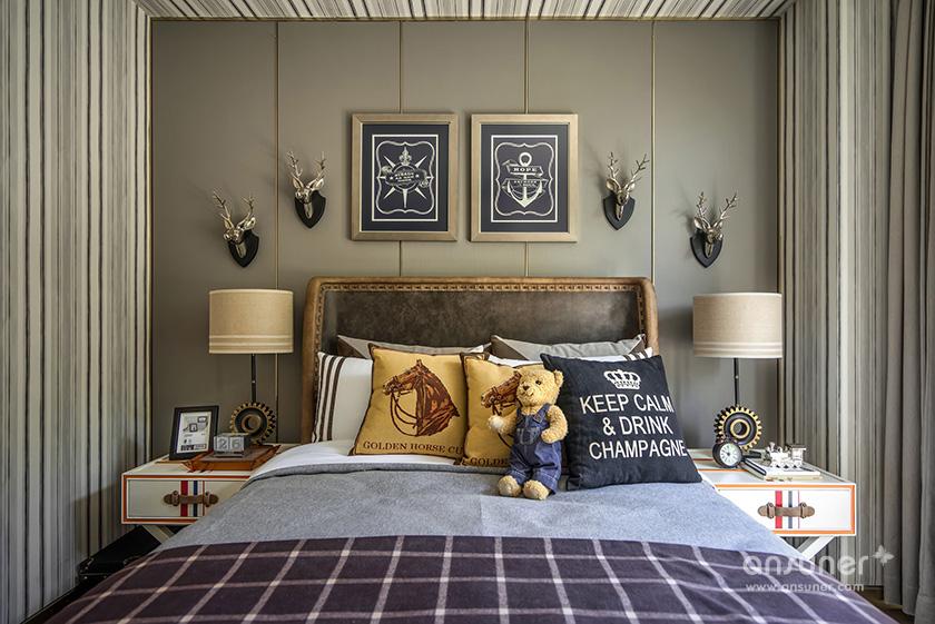 中航上城联排别墅时尚格调--布鲁盟室内设计