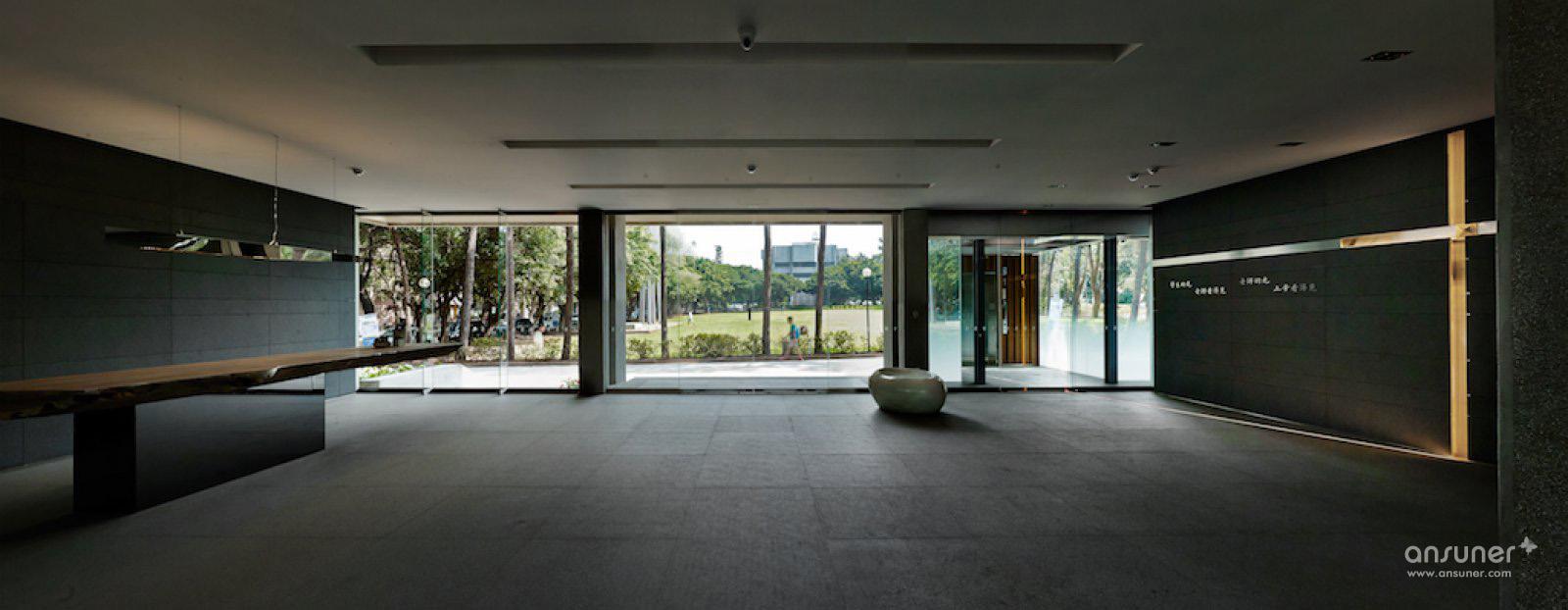 中原大学行政大楼欣赏