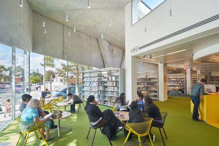 美国纽约丘园山图书馆欣赏