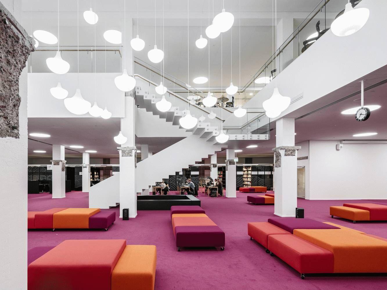 阿尔托大学图书馆设计欣赏
