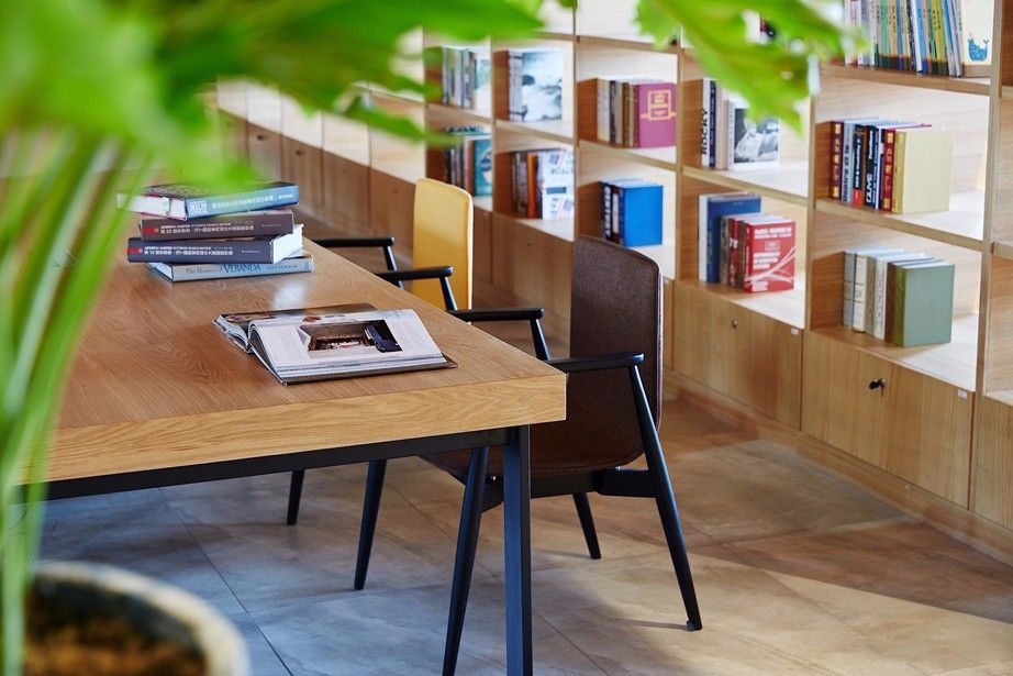 常州图书馆式办公空间欣赏