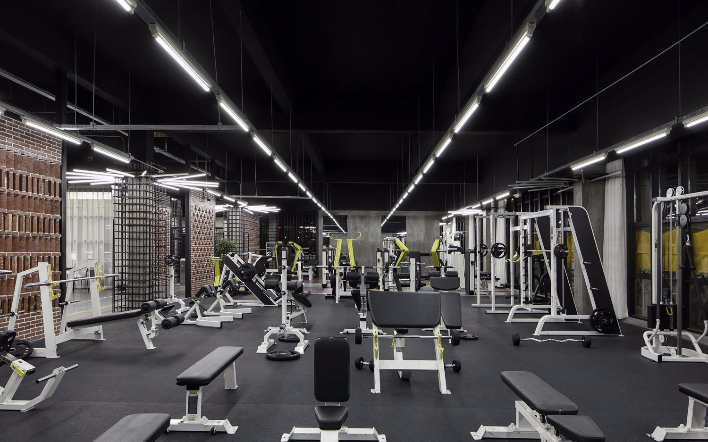 建桥学院健身梦工厂欣赏