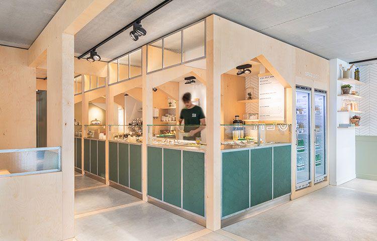 现代清新SLA餐厅设计欣赏