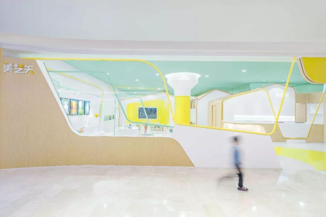 深圳美艺天儿童学习中心设计欣赏