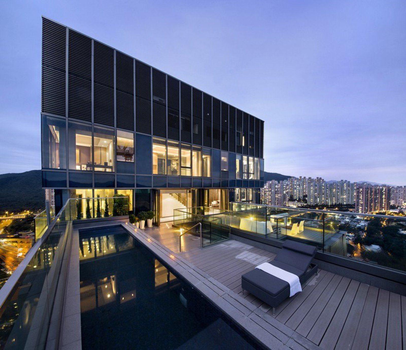 香港迎海复式样板房