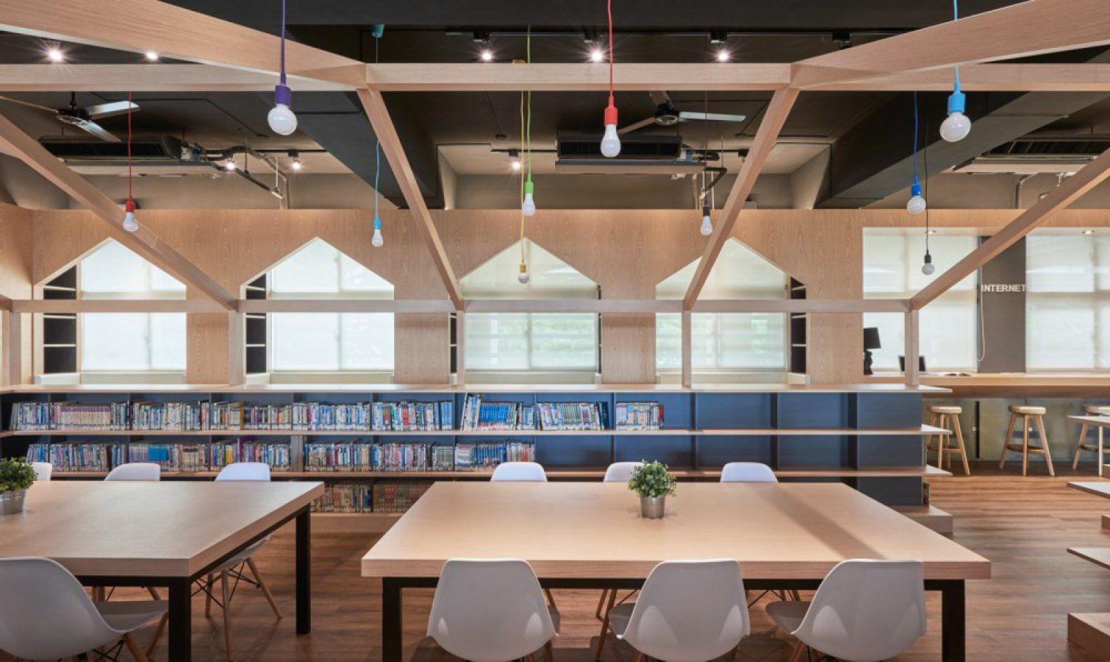 立新国中图书馆设计欣赏