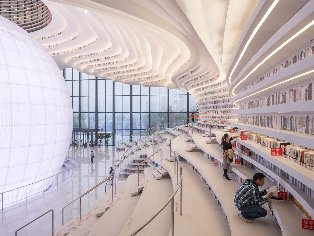 天津滨海图书馆设计欣赏