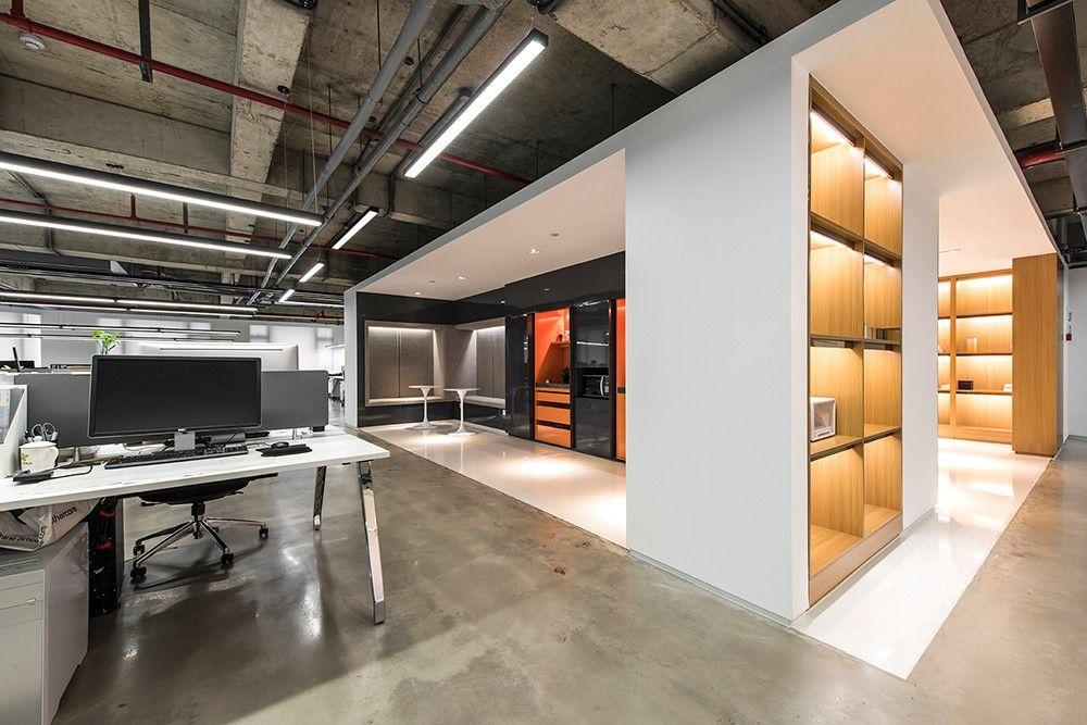 杭州 MZGF 木智工坊办公展厅设计欣赏