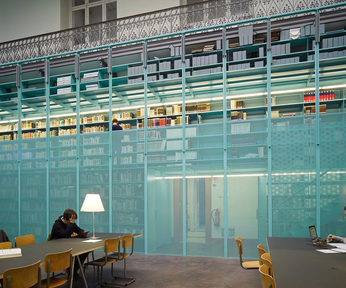Ghent 校园图书馆设计欣赏