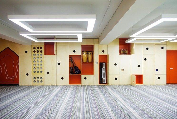 韩国首尔的德国学校礼堂设计欣赏