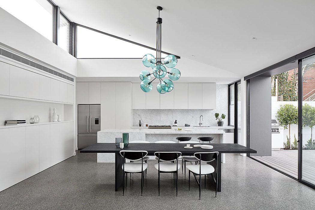 墨尔本 极简·黑白灰 family house设计欣赏|Tom Robertson Architects - 4