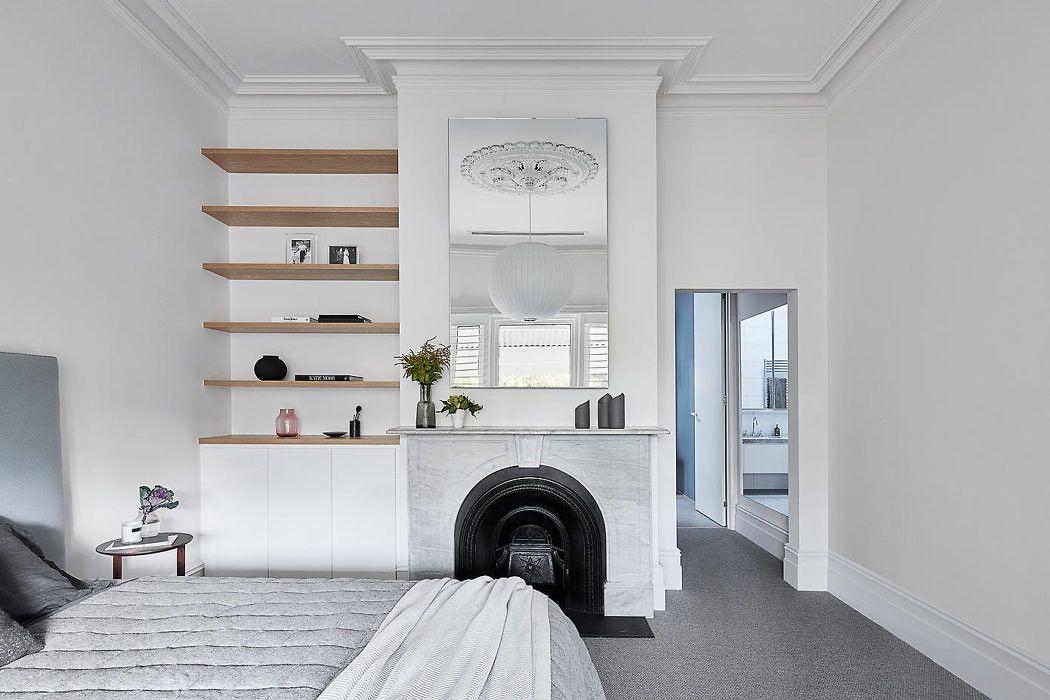 墨尔本 极简·黑白灰 family house设计欣赏