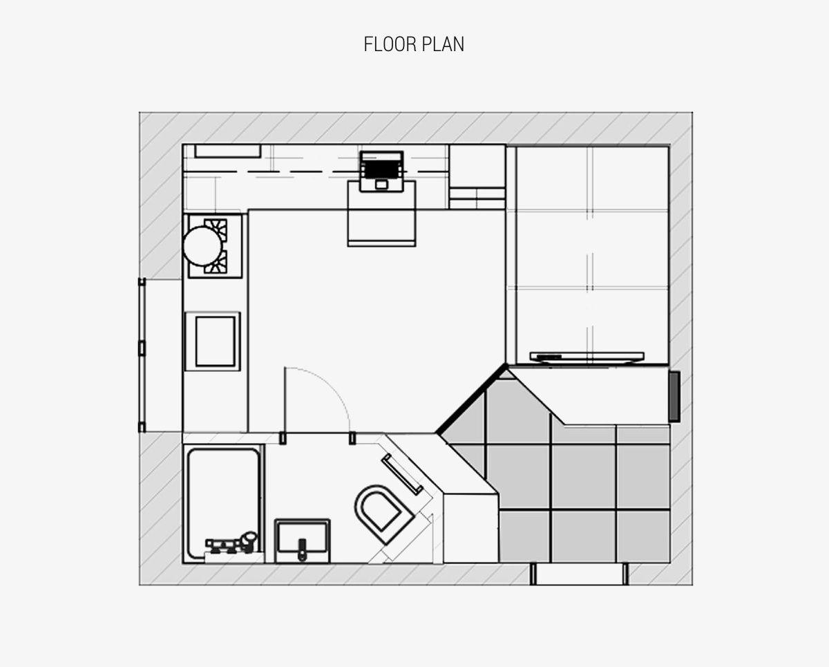 18m²也有不一样的生活空间