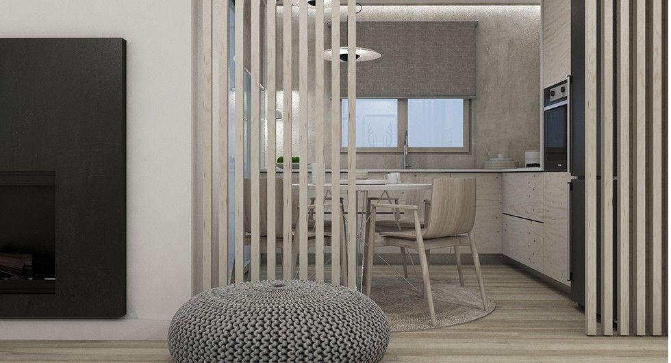 希腊58m²原木阁楼设计欣赏