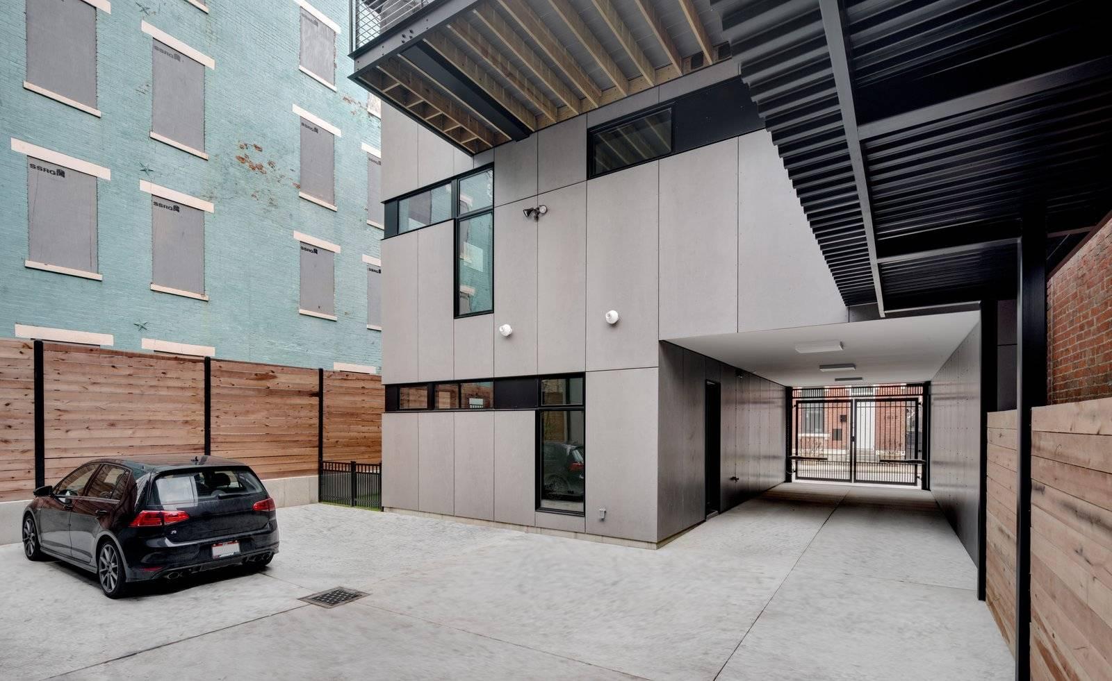 辛辛那提三层住宅   简洁利落的黑白艺术   设计赏析