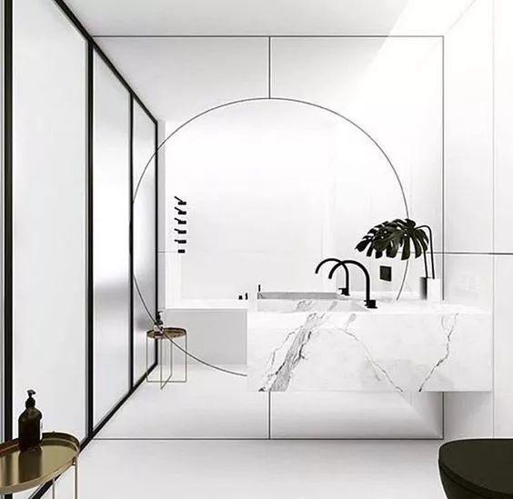 20款单人洗漱台,针对小户型卫生间设计! | 家装搭配