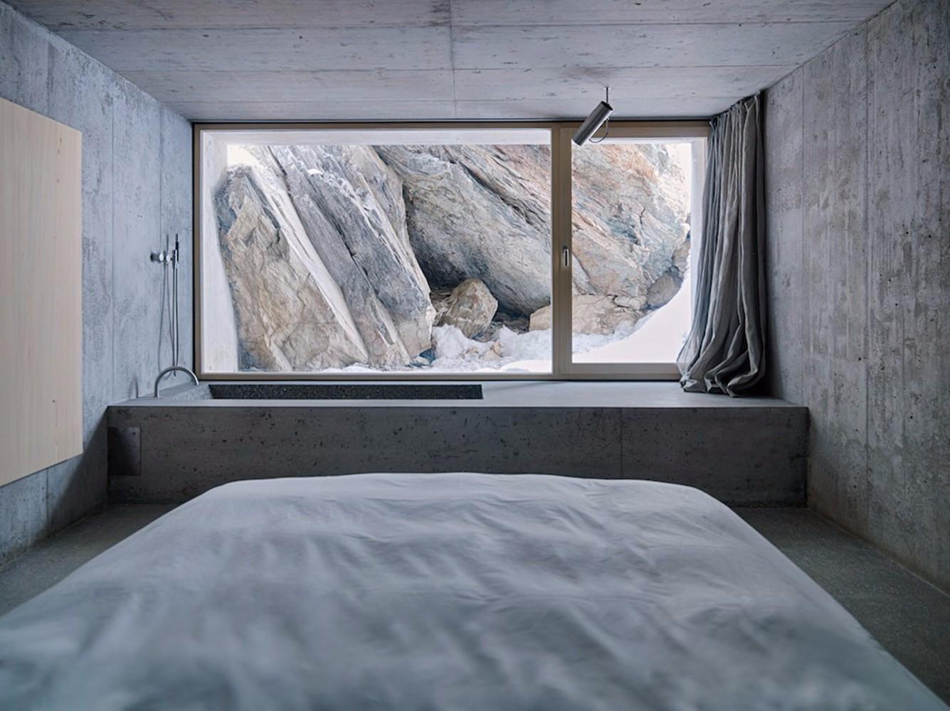 谁说卫生间一定要贴砖?这18款混凝土浴室也照样很美! | 家装搭配