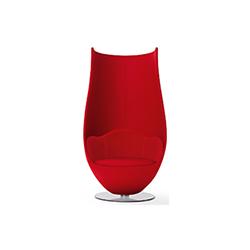 郁金香 Tulip Armchair 卡佩里尼 cappellini品牌 Marcel Wanders 设计师