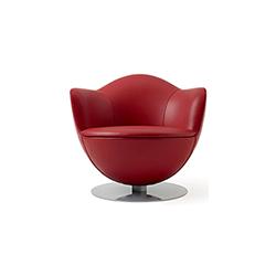 郁金香休闲椅 DALIA armchair NEW 卡佩里尼 cappellini品牌 Marcel Wanders 设计师