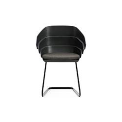 裂谷休闲椅 Rift chair moroso Patricia Urquiola