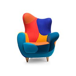 亚历山德拉扶手椅 Alessandra armchair 贾维尔•马里斯卡尔 Javier Mariscal