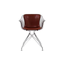 金属丝躺椅 Wire Lounge Chair Overgaard & Dyrman Overgaard & Dyrman