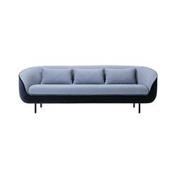 弗雷德里西亚·海库三座沙发 Fredericia Haiku Three Seater Sofa