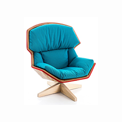 克拉丽莎休闲椅 Clarissa Leisure Chair moroso Patricia Urquiola