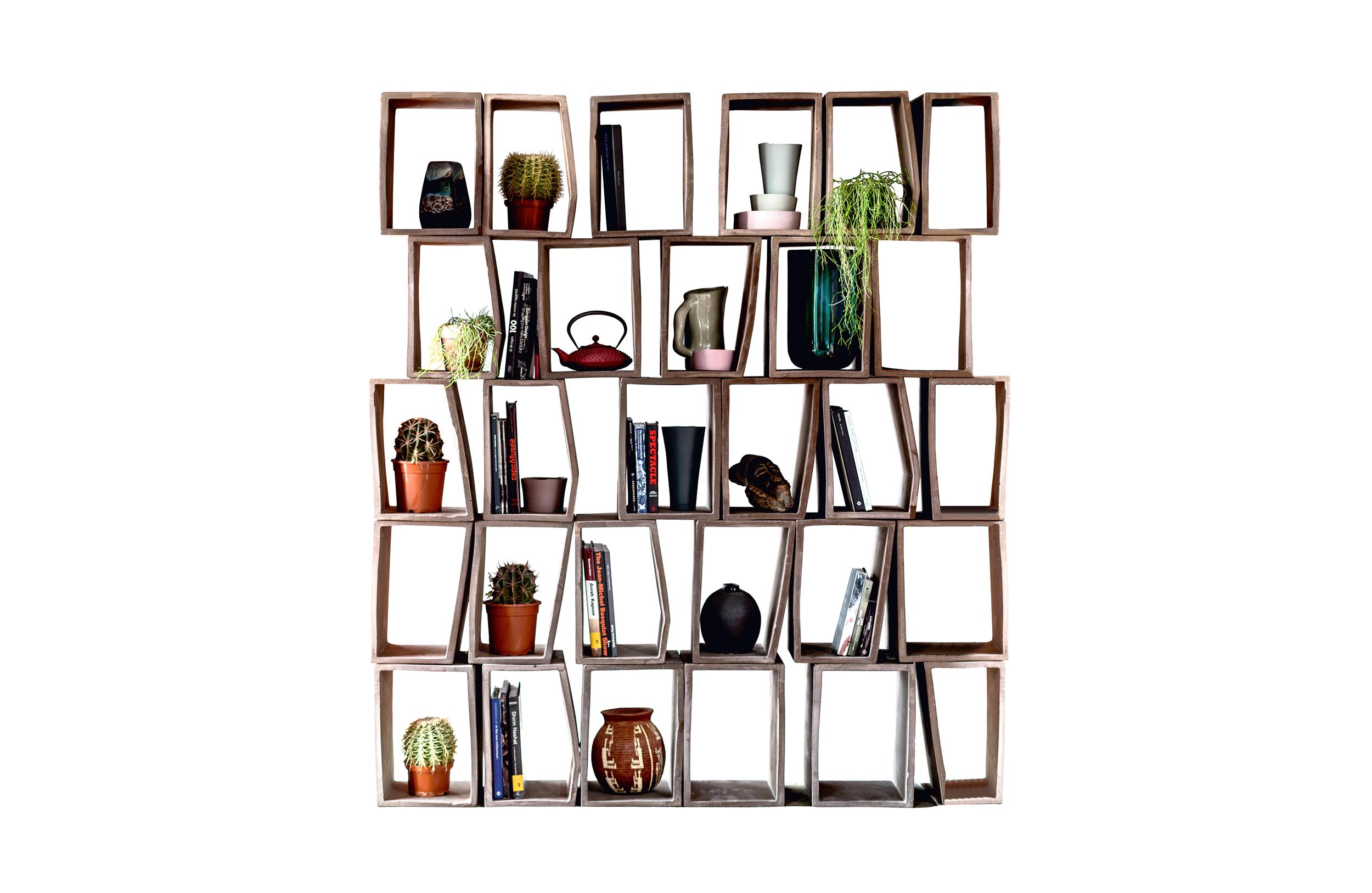 马尔科·卡萨蒙提 Marco Casamonti| 特里亚书架 Terreria Bookcase