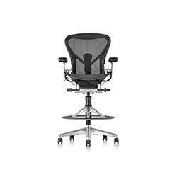 艾龙高脚椅 Aeron Stool 赫曼米勒 herman miller品牌 Bill Stumpf 设计师