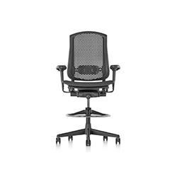 塞勒高脚椅 Celle Stool 赫曼米勒 herman miller品牌 Jerome Caruso 设计师