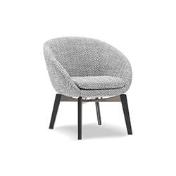 罗素休闲椅 Russell Armchair 米诺蒂 Minotti品牌 Rodolfo Dordoni 设计师