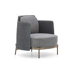 磁带沙发椅 Tape Armchair 米诺蒂 Minotti品牌 Oki Sato-Nendo 设计师