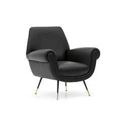 艾伯特&伊利沙发椅 Albert & Ile Sofa Chair 米诺蒂 Minotti品牌  设计师