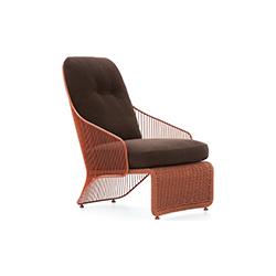科莱特扶手椅 Colette Armchair 米诺蒂 Minotti品牌 Rodolfo Dordoni 设计师