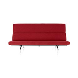 伊姆斯紧凑型沙发 Eames Sofa Compact 赫曼米勒 herman miller品牌 Charles & Ray Eames 设计师