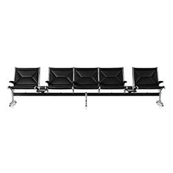 伊姆斯串联吊索等候排椅 Eames Tandem Sling Seating 伊姆斯夫妇 Charles & Ray Eames