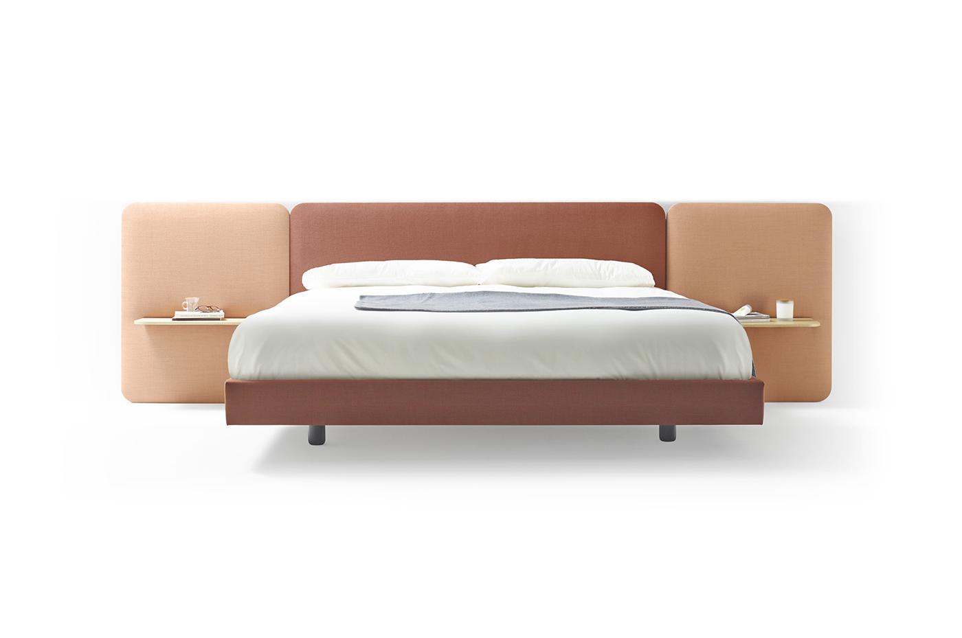 卧室 床 创意家具 现代家居 时尚家具 设计师家具 定制家具 实木家具 洛塔床