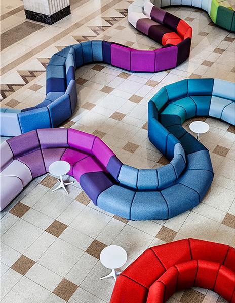 查德威克模块化公共区域沙发A2153 | 现代简约沙发 | 办公沙发/茶几 - ansuner爱尚家具
