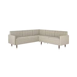 BassamFellows BassamFellows| 燕尾服经典沙发 Tuxedo Classic Sofa