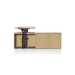 Canvas 升降办公桌 Canvas 赫曼米勒 herman miller品牌 Jeffrey Bernett 设计师