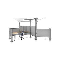 Resolve系统开放式办公区 Resolve System 赫曼米勒 herman miller品牌 Ayse Birsel 设计师