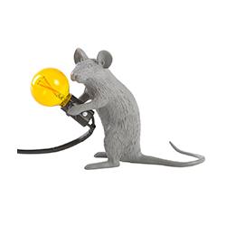 鼠灯 /Mouse Lamp 塞莱蒂 Seletti品牌 Marcantonio Raimondi Malerba 设计师