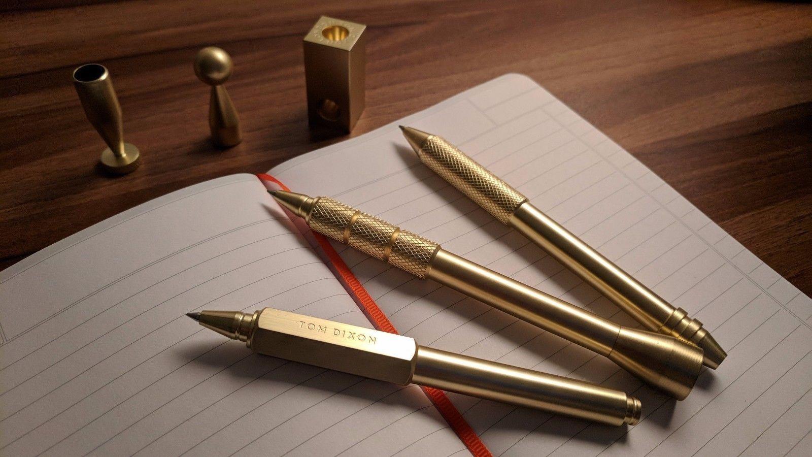 齿轮六角签字笔